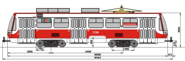 [править] Tatra T3RF в Самаре